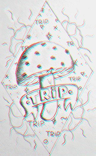10 best Trippy Mushroom Drawing images on Pinterest | Draw ...