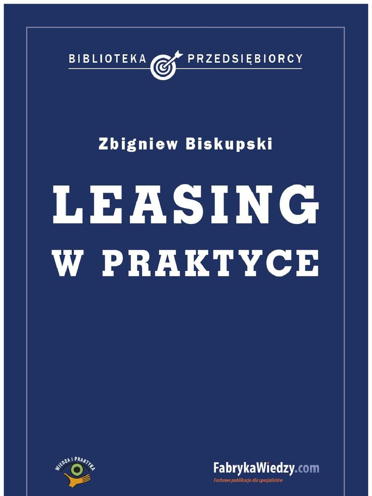 Leasing w praktyce - ebook