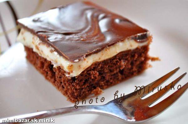BÁJEČNÉ REZY MÍŠA - Misha cake (Czech chocolate and cream cake).