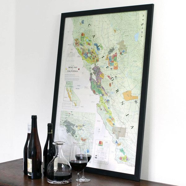Best Maps Of Wine Country Images On Pinterest Wine Country - Map of all us avas