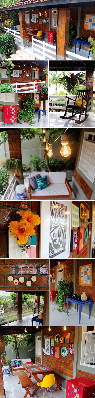 """A nossa varanda e espaço """"gourmet"""" (Parte 1)"""