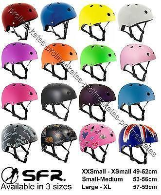 Sfr #kids/junior #scooter/skateboard/bmx/inline/quad/derby skates #stunt helmet,  View more on the LINK: 	http://www.zeppy.io/product/gb/2/201614593401/