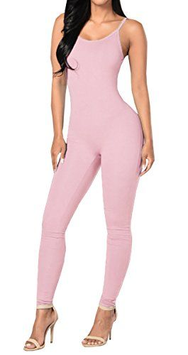 New Trending Bodysuits: Ybenlow Women's Spaghetti Strap Bodycon Tank Jumpsuits Rompers Bodysuit,Pink,Medium. Special Offer: $14.99 amazon.com Ybenlow Women's Sexy Spaghetti Strap Tank One Piece Skinny Jumpsuits Rompers Playsuit Multi colors available Grey Occasion:Casual,Sport,Fitness,Workout,Party,Clubwear,Cocktail,Beach,etc Note:Color differences allowed for light effects and display...
