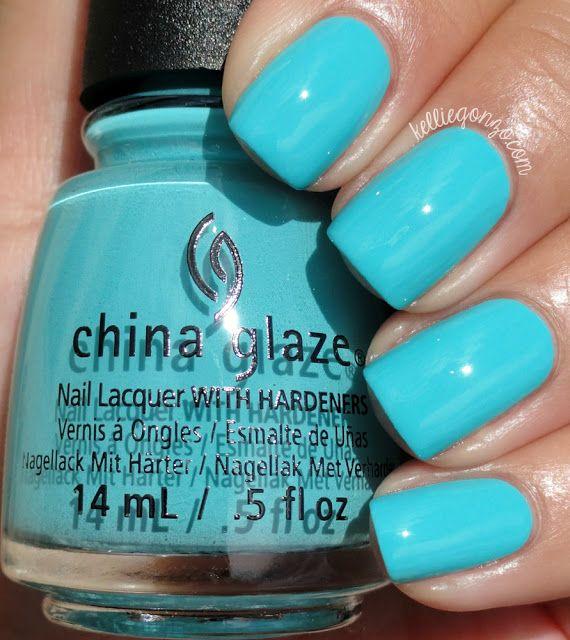 China Glaze 2015 Rain Dance the Night Away // kelliegonzo.com Rain Dance the Nig… – nail polish