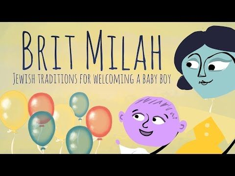 The Brit Milah (or 'bris') is a sign of a baby boy's covenant with G‑d. Watch the short animated video to learn about finding a mohel, what a Brit Milah is all about, and some popular modern spins on this ancient tradition. http://www.g-dcast.com/jewish-birth/