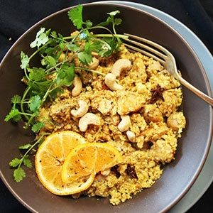 LCHF-Banting-Recipes Chicken and Cauli pilaf