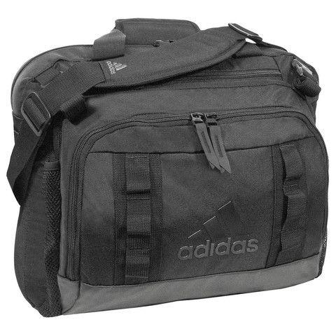adidas Black Shield Coach Messenger Bag
