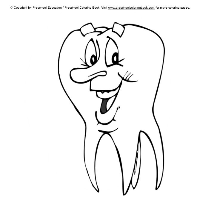 69 best Dental Coloring Pages images on Pinterest | Oral health ...