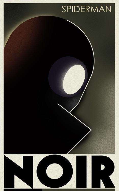 Cassandre Spirit - Spiderman Noir