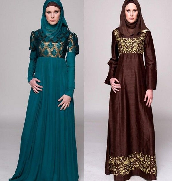 Modern Muslim Dress For Women Modern islamic clothing2