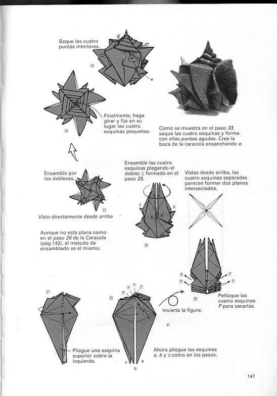 kunihiko kasahara y Toshie Takahama (Papiroflexia) - Origami para expertos 146_page146
