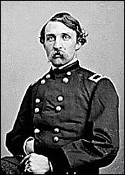 Union Brigadier General Edwin Henry Stoughton was captured while sleeping March 9th 1863 at Fairfax Court House by Confederate Colonel John S Mosby.