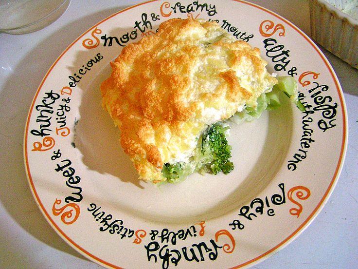 Broccoli mit Käse-Eischnee