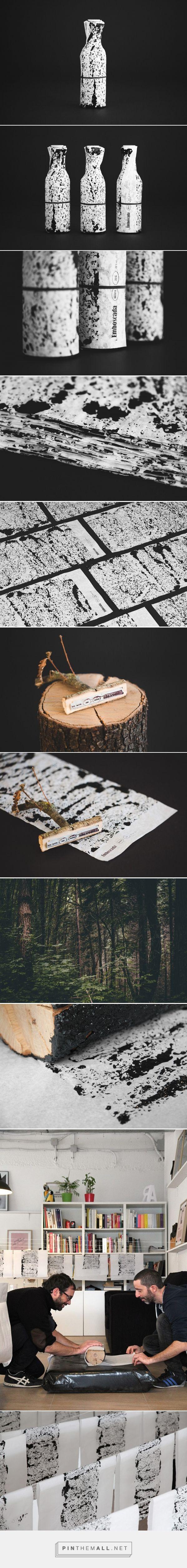 Emboscada packaging design by Enserio - https://www.packagingoftheworld.com/2018/04/emboscada.html
