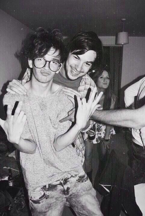 Matty was an attractive teenager and he still is very attractive
