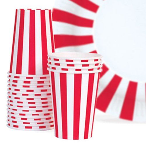 Bold Stripes Paper Cups by Beau-coup