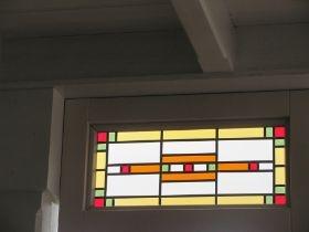 Glas in lood bovenrand