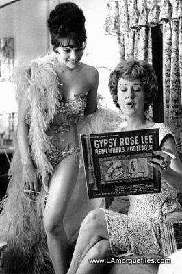 Natalie Wood & Gypsy Rose Lee