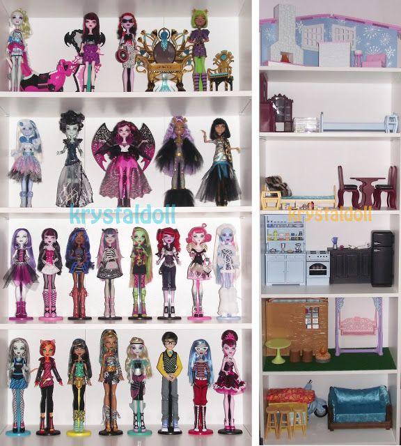 Les Monster High de Krystal: novembre 2012