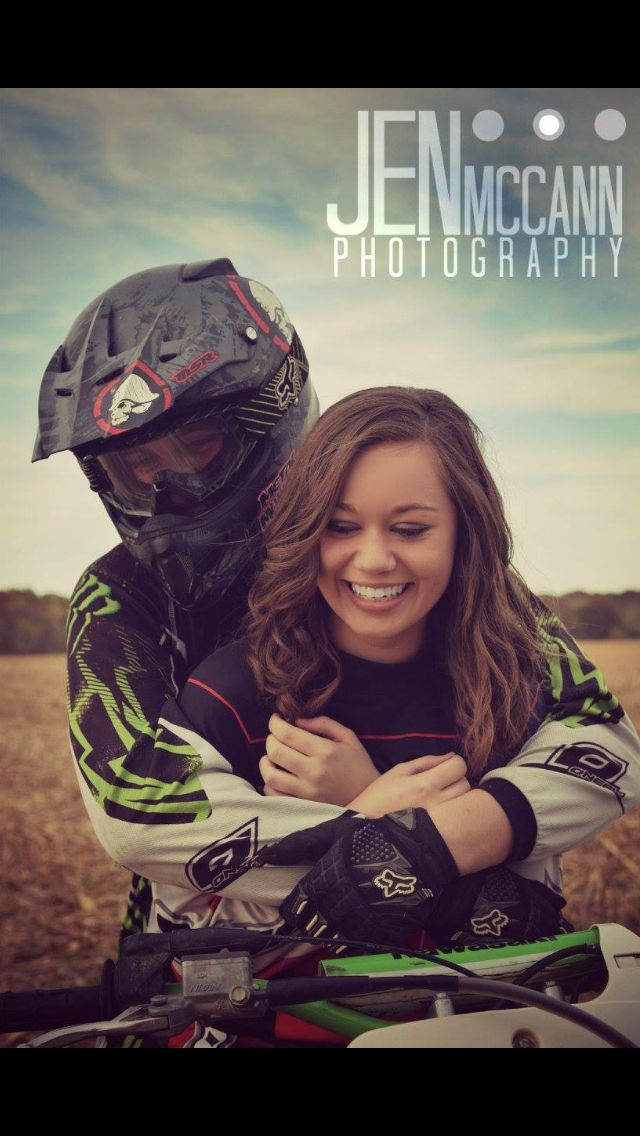 Dirt bike couple photos