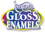 Gloss Enamels - glass paint that can be oven cured to be dishwasher safe..