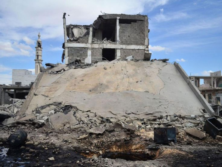 RAID RUSSI IN SIRIA