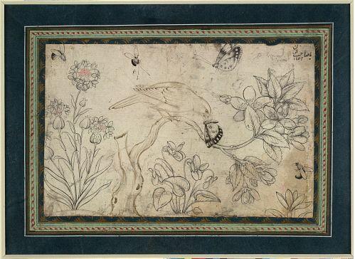 Painting, 1650 (circa), Iran, Isfahan, Safavid dynasty. The British museum, London