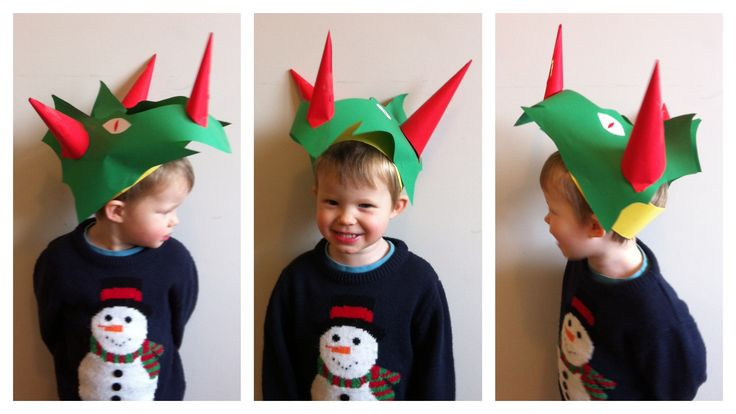 How cool is this dinosaur hat?