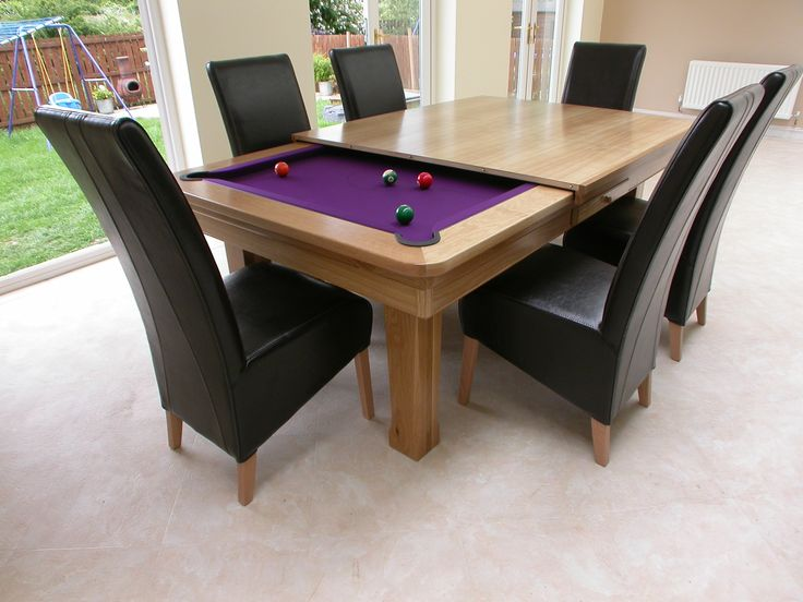 Pool Table/Dining Room Table Combo. | For The Home | Pinterest | Pool Table,  Dining Room Table And Room