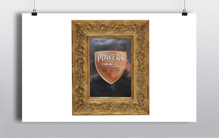Vintage gold picture frame for a 5×7 photo http://www.prophouse.ie/portfolio/vintage-gold-frame/