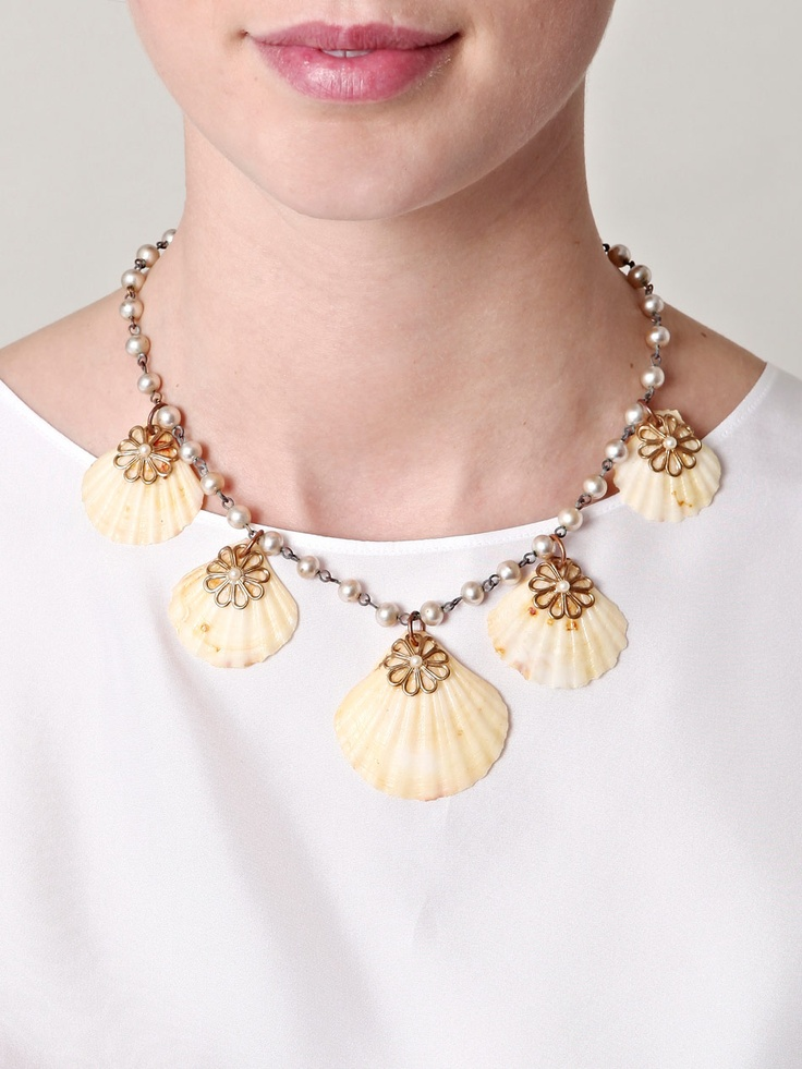 716 best Seashell Jewelry II images on Pinterest Seashell jewelry