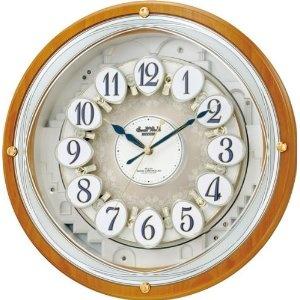 Luxury Watch Brands - Small World (スモールワールド) 掛け時計 コンベルW 電波時計 からくり時計 4MN502RH06 | 最新の時間センター