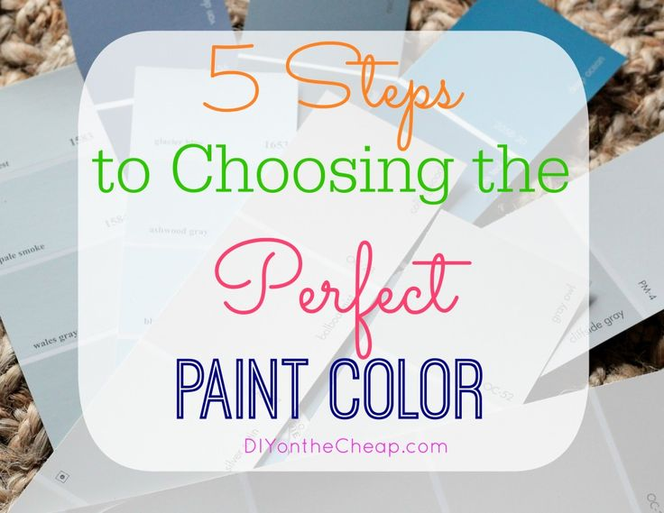 how to choose a paint color70 best Paint colors images on Pinterest  Wall colors Colors and