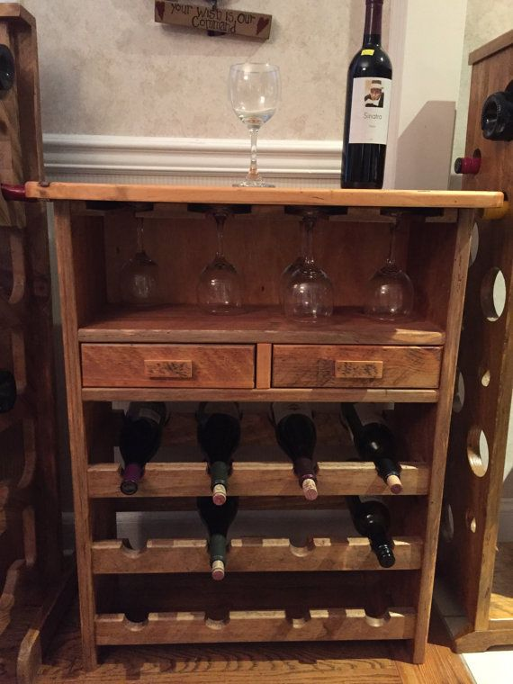 Wine rack by FPJrCreations on Etsy