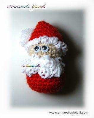 Free Tutorial Santa Claus Amigurumi Crochet Babbo Natale All