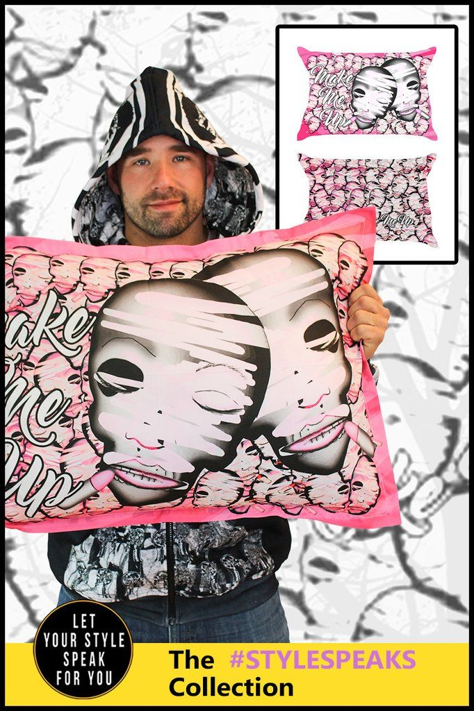 Make Me Up - Pillow Cases (Set of 2)