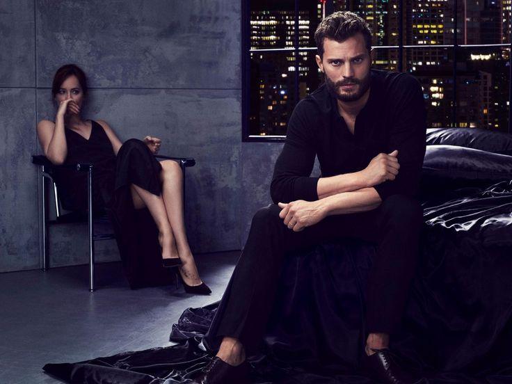 Jamie Dornan e Dakota Johnson Promoshoot 50 Sfumature di Nero   50 Sfumature Italia