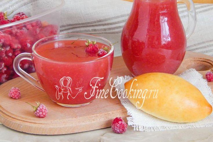 Малиновый кисель - рецепт с фото http://finecooking.ru/recipe/malinovyj-kisel