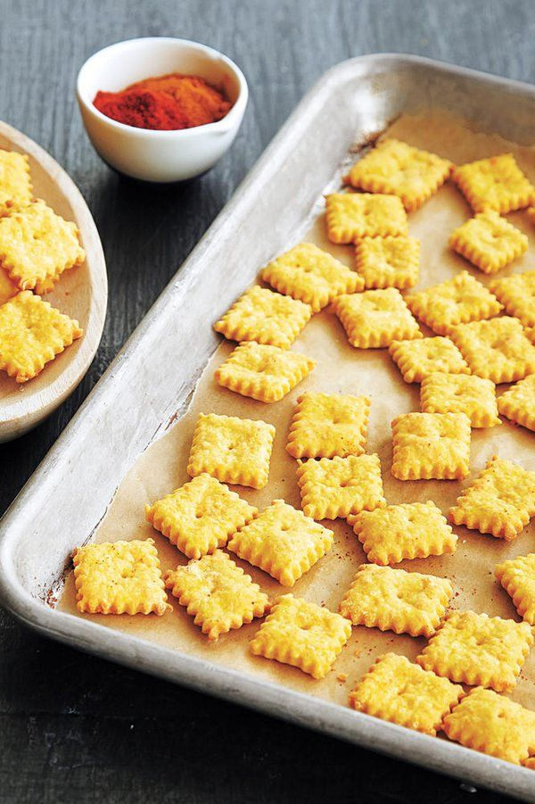 Cheddar Cheese Snack Crackers Recipe Recipe Healthy Afternoon Snacks Homemade Snacks Healthy Camping Food