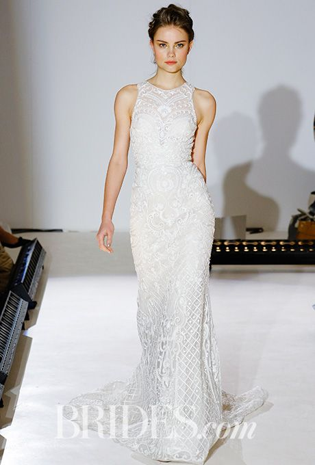 New Lazaro Spring Lazaro Wedding DressHalter