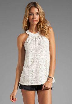Blusas blancas de encaje moda casual elegante   http://blusas.me/blusas-blancas-de-encaje-moda-casual-elegante/