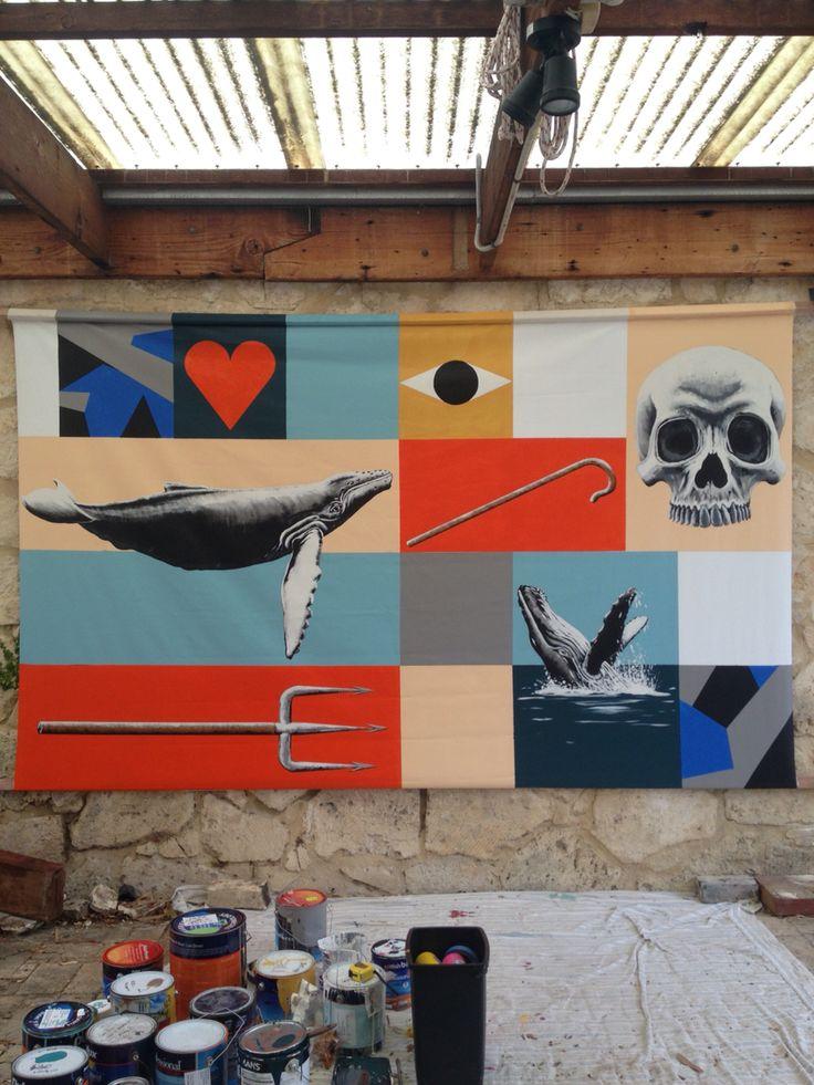 Sea shepherd auction #art #artist #artwork #paint #painting #mural #streetart #perth