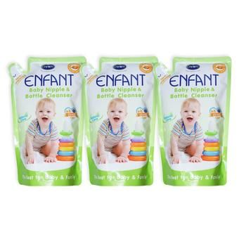 Buy Enfant Nipple and Bottle Liquid Cleanser 700 ml (pack of 3) online at Lazada. Discount prices and promotional sale on all. Free Shipping.