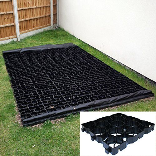 8ft x 5ft Shed Base Kit includes Weed Fabric and 40 x TruePave Plastic Paving Grids---70.48---