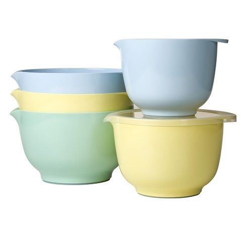 rosti mepal margrethe mixing bowls....classic Danish design....my parents have had these bowls for over 50 years