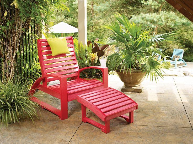 C R Plastic St Tropez Recycled Plastic Lounge Set Stlngeset1 Plastic Productsthe Great Outdoorsoutdoor Furniturei