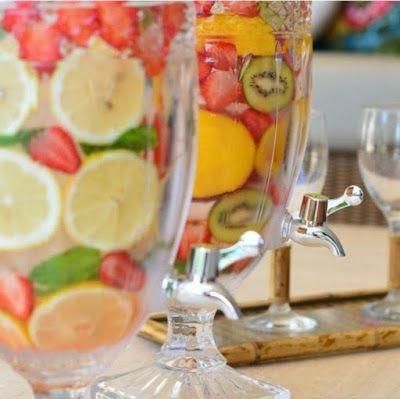 BEM VIVER / Ana Braga: Água com infusão de frutas:  Uma delícia!