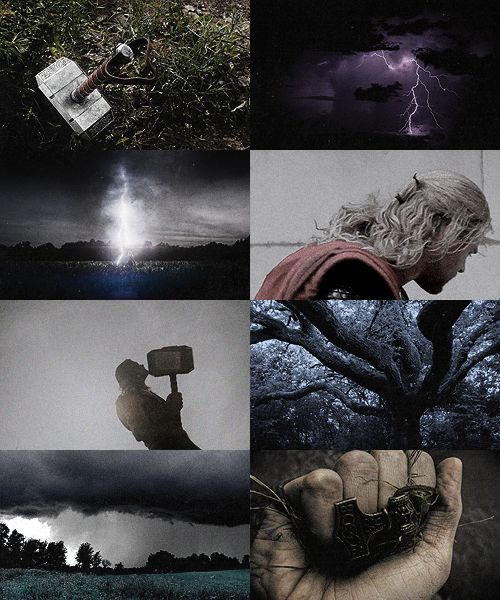 Son of Odin and Fjorgyn, Thor is the god of thunder and one of the most powerful in the Norse pantheon. While his father championed the noble class, Thor was the patron of the farming freemen who composed the majority of the Viking population. Thor also represented order, and men invoked him in the name of law and stability. His main weapon is the hammer, Mjollnir, which he often used to fight against the Jotuns, who symbolized nature's chaos.