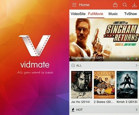 Vidmate For PC Online Download 2017 Full Version. Vidmate is the ultimate app to watch , listen and stream movies,Tv Shows,videos and Live Tv. Get it now...