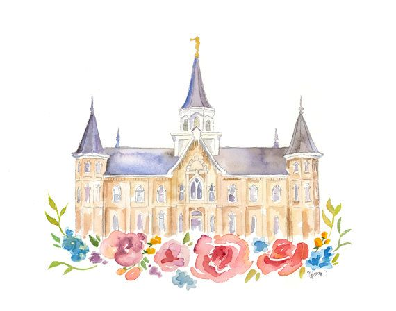 Prints of my original Provo City Center temple watercolor. If youd like to request writing a name or date on the print itself, select custom listing within options and specify your requests (see picture with options). Perfect for wedding or any other present